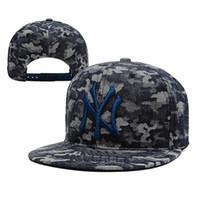 Yankees Snapbacks Sombrero barato Gorra de béisbol del azul real del Snapback capsula venta superior detrás los sombreros rápidos Deportes Caps moda Hip Hop Sombreros Permitir orden de la mezcla