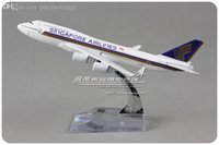 airplanes boeing - cm Alloy Metal Air Singapore Airlines Airplane Model Boeing B747 V SPP Airways Plane Model Toy