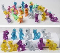 Wholesale New My Little Pony Loose Action Figures toy CM Pony Littlest Figure Dia Childrens Day Birthday Gift For Kids High Quality ZJ008