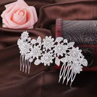 Wholesale Bridal Headpiece Hair Accessory Hair Wear orgeous Crystal Wedding Bridal Tiaras Crown Wedding Hair Jewelry