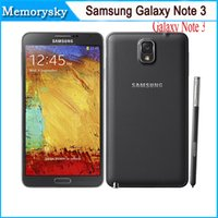 note 3 - 5 Inches N9000 Samsung Galaxy Note III N9005 N9000 Quad Core Smart Phone G LTE GB RAM GB ROM Android Refurbished By DHL