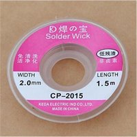 Wholesale New ft mm New Useful Desoldering Braid Solder Remover Wick CP