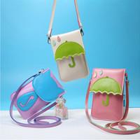 apples messenger - Cell Phone Fashion Cartoon Cats Pouch Coin Purse Wallets Women Bag Messenger Bags Weave Leather Handbags crossbody bags for women hand bag