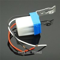 auto optical switch - DC V Automatic Outdoor waterproof Day Auto On Off Light Switch photo electric Street Lighting Control Sensor optical senser