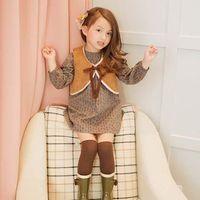 Wholesale Girl Dress Waistcoat For Kids Child Clothes Kids Clothing Autumn Winter Coat Girls Tops Warm Vests Children Waistcoat Girls Coat