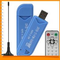 mini digital tv stick - NESDR Mini USB TV Stick DVB T RTL SDR Digital TV Receiver USB RTL2832U R820T2 Tuner Remote Control Antenna Dropship