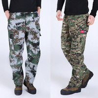 cargo pants - Men Joggers Pants Military Camouflage Outdoors Army Sweatpants Jogger Pants Casual Trousers Men Jogging Camo Trousers X05