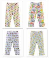 Cheap Brand New Baby Pants 9-12Month Boys Girls Pajamas Pant Children's Trousers 10pcs lot