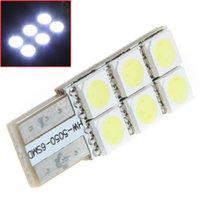 Wholesale T10 W5W LEDs SMD Bright White LED Car Side Wedge Light Vehicle Tail Lamp Parking Bulb DC12V
