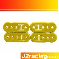 Wholesale J2 RACING STORE Universal pc Gold Polyurethane Exhaust Muffler HANGER Lengthened