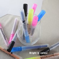 Wholesale Multicolour whiteboard pen marker candy color pen for sale Eco Friendly Material School Supplies Dry Erase Marker