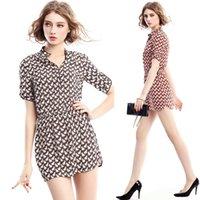 Cheap Fashion Women Spring Clothing 2015 Women New Sexy V-neck Short-sleeved Animal Printed Elastic Slim Dress