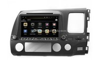 digital mp4 digital player - Android Car DVD Player GPS Navigation for Honda Civic Right Side with Radio BT WIFI