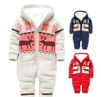 baby hot bottles - newborn clothes baby romper color cotton HOt sell double deck baby romper bodysuits infant winter YCF10