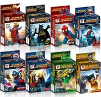 Wholesale fashion new cartoon avengers alliance Building blocks Minifigs Educational toys Assembly blocks DHL XS2058