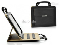 Wholesale Briefcase for iPad New iPad Extra Pocket Soft Microfiber Interior Hot black fashion brief case