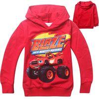 t shirt machine - New Boys T shirt T shirts Kids Baby Blaze and The Monster Machines Children Clothing Clothes