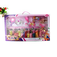 Wholesale 60 cm Queen Barbie Doll Gift Set Barbie Dress girls love children s play toy