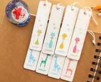 Wholesale Cartoon wooden ruler Personas Animal Wooden ruler Bookmark ruler