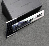 audi supercharged - Car Styling D Alumium Supercharged Car Body Sticker Decal For Ford Focus Chevrolet Cruze Kia Skoda Audi BMW Volkswagen