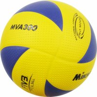 Cheap Free Shipping Wholesale Brand New Official Size 5 MVA300 PU Volleyball High Quality 8 Panels Match Volleyball Indoor Outdoor Training Balls