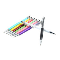 Wholesale 1pcs Crystal in1 Touch Screen Stylus Ballpoint Pen for iPhone Smartphone Brand New