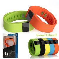 Wholesale 2016 TW64 TW SmartBand Smart Wristband bracelet Fitness Tracker Sports pedometer Bluetooth Waterproof Smart Watch