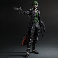 batman book series - NEW Comic Book Heroes Direct Arkham Batman Series The Joker Movable PVC Action Figure Toy for Collection New IN Box