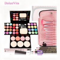 beauty ad - Perfect Makeup Sets Maquiagem ADS Makeup Palette Make Up Brushes Eyeliner Eyebrow Pencil Beauty Cosmetic Maquillaje