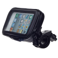 Wholesale 225729 chenbaiy M05 Motorcycle Bicycle Water Resistant Holder Stand for GPS Iphone Black