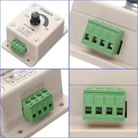 Wholesale Quality NEW Simple V A Light Dimmer Adjustable Bright Controller Single Color for LED Strip Light