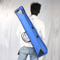 Wholesale Fashionable Slap up Fashionable Fabric Trombone Bag Azure US