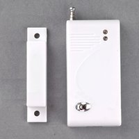 Wholesale Hot Sale New White Mhz Sensors Alarms Contact Wireless Door Window Magnet Entry Detector Sensor