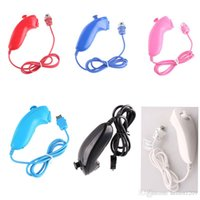 Wholesale Brand New Nunchuk Nunchuck Game Controller for Nintendo Wii