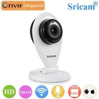 Wholesale Sricam SP009 CMOS P2P two way Audio ONVIF IR CUT video camera with G Micro SD Card full hd wireless camera