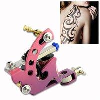 artist pink tattoos - Cast Iron Tattoo Machine For Professional Artist Handmade Shader Liner Pink