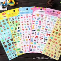 Wholesale Three Dimensional Decorative Stickers Epoxy Bow Teddy Bear Ice Cream EP Series