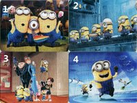 Wholesale 40pcs pack Minions Puzzles Style For Choice Minions Characters Pattern Children Education Games Toys For Kids Gift H0340