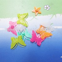 children bmx bicycle - 20pcs Girl Boys Cycle Bike Wheel Spoke Clip Beads Fishes Butterflies Colors Children Bicycle Decors