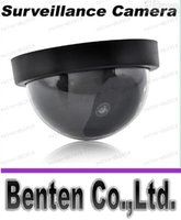 Wholesale LLFA7818 HOT Fake Dummy Dome Surveillance CAM Dummy Indoor Security CCTV Camera flashing for Home Camera LED