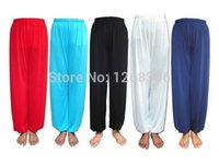 Wholesale Tai Chi Pants Unisex Morning Exercise Martial Arts Kung Fu Trousers Yoga Bloomers Uniforms