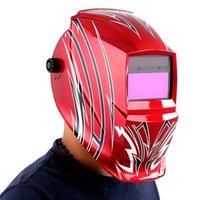 Wholesale Laser and Oxyacetylene Welding Mask Professional Arrows Solar Welding Helmet Welder Mask Auto Darkening