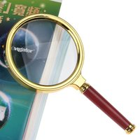 Wholesale 1 mm Handheld X Magnifier Magnifying Glass Loupe Reading Jewelry east