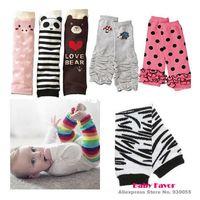 Cheap Free Shipping 1pc Baby Boy Girls Infant Toddler Kids Rainbow Zebra Leggings Socks Leg Warmers Football Casual Autumn Wear