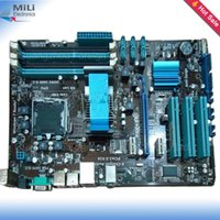 asus ethernet - For ASUS P5P43T Original Used Desktop motherboard For Intel P43 LGA DDR3 ATX On Sale