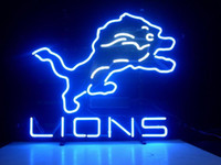 Wholesale NEW LIONS REAL NEON LIGHT BEER SIGN C213