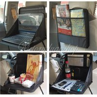 Wholesale Travel Car Laptop Holder Tray Bag Mount Back Seat Food Table Work Desk Organizer
