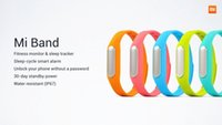 Wholesale Original Xiaomi Mi Band Smart Xiaomi Miband Bracelet for Xiaomi MI4 M3 MIUI Smart Fitness Wearable Tracker Waterproof Wristband