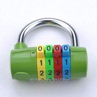 Wholesale 1PC Anti Theft Cabinet Door Password Gym Lock Solid Digit Resettable Combination Lock Password Plus Padlock M MHM495 S1