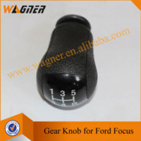 Wholesale Gear Shift Knob Speed Black Cap for Ford Focus MK2 Mondeo MK3 MUSTANG Fiesta MK6
